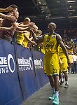 08.05.2018, EWE Arena, Oldenburg, GER, BBL, Playoff, Viertelfinale Spiel 2, EWE Baskets Oldenburg vs ALBA Berlin, im Bild<br /> das Bad bei den Fans<br /> Rickey PAULDING  (EWE Baskets Oldenburg  #23  )<br /> Foto &copy; nordphoto / Rojahn