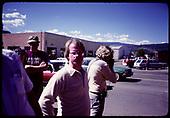 Unidentified bystanders at Durango Centennial Celebration - Durango.<br /> D&amp;RGW  Durango, CO  1981