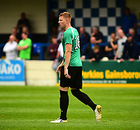 Gainsborough Trinity's Chris Salt<br /> <br /> Photographer Andrew Vaughan/CameraSport<br /> <br /> Pre-Season Friendly - Gainsborough Trinity v Lincoln City - Saturday 15th July 2017 - The Gainsborough Martin &amp; Co Arena - Gainsborough<br /> <br /> World Copyright &copy; 2017 CameraSport. All rights reserved. 43 Linden Ave. Countesthorpe. Leicester. England. LE8 5PG - Tel: +44 (0) 116 277 4147 - admin@camerasport.com - www.camerasport.com
