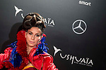 A model during the party organized by Mercedes - Benz and Ushuaia Ibiza to the presentation of new Smart Fortwo Ushuaia Limited Edition 2016 at the Palacio de Cibeles in Madrid. March 10, 2016. (ALTERPHOTOS/BorjaB.Hojas)