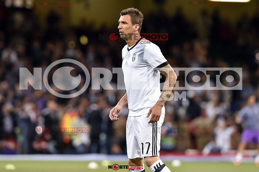 EFA Champions League Final match between Real Madrid and Juventus at the National Stadium of Wales, Cardiff, Wales on 3 June 2017. ***(Photo:<br /> Giuseppe Maffia/UK Sports Pics Ltd/Alterphotos/NortePhoto.com)