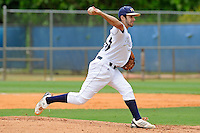 16 May 2010:  FIU's Aaron Arboleya (29) pitches in the second inning as the FIU Golden Panthers defeated the University of South Alabama Jaguars, 5-0, at University Park Stadium in Miami, Florida.