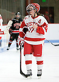 Catherine Ward (BU - 17) - The Boston University Terriers defeated the visiting Northeastern University Huskies 3-0 on Tuesday, December 7, 2010, at Walter Brown Arena in Boston, Massachusetts.