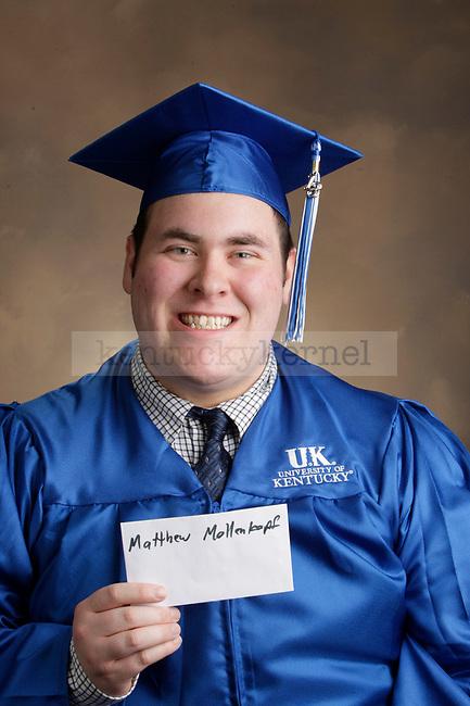 Mollenkopf, Matthew photographed during the Feb/Mar, 2013, Grad Salute in Lexington, Ky.