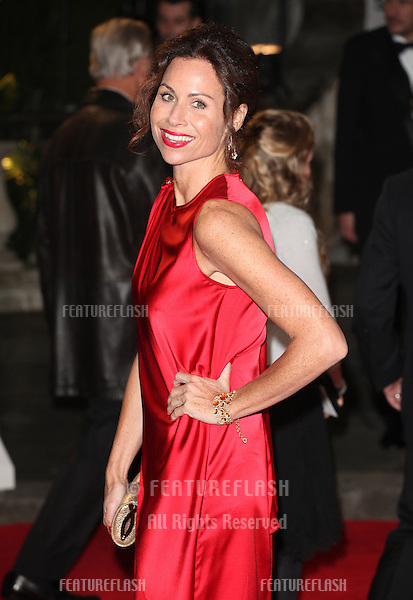 Minnie Driver arriving for the Royal World Premiere of 'Skyfall' at Royal Albert Hall, London. 23/10/2012 Picture by: Alexandra Glen / Featureflash