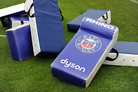 A general view of Bath Rugby branded tackle shields. Bath Rugby pre-season training session on July 28, 2017 at Farleigh House in Bath, England. Photo by: Patrick Khachfe / Onside Images