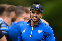 Jonathan Joseph of Bath Rugby looks on. Bath Rugby pre-season training on August 8, 2018 at Farleigh House in Bath, England. Photo by: Patrick Khachfe / Onside Images