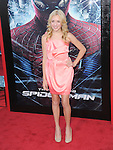 Peyton List attends  COLUMBIA PICTURES' THE AMAZING SPIDER-MAN Premiere held at Regency Village Theater in Westwood, California on June 28,2012                                                                               © 2012 Hollywood Press Agency