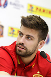 Gerard Pique during trade event during Spanish national football team staff. March 21,2016. (ALTERPHOTOS/Acero)