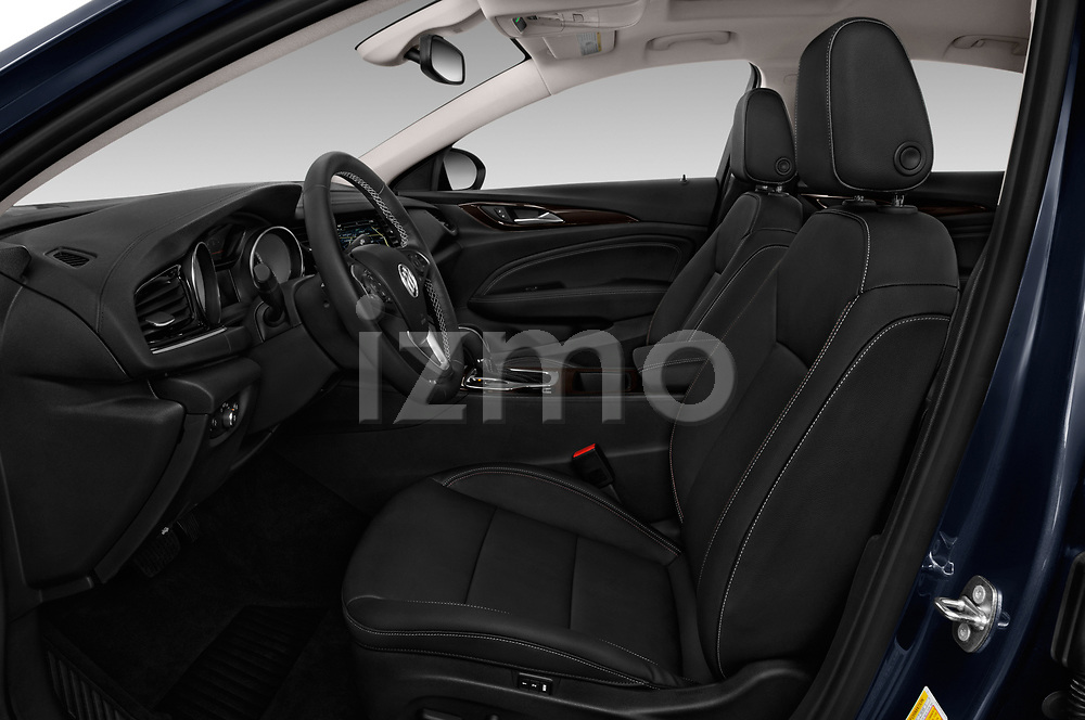 Front seat view of a 2018 Buick Regal TourX Essence AWD 5 Door Wagon front seat car photos