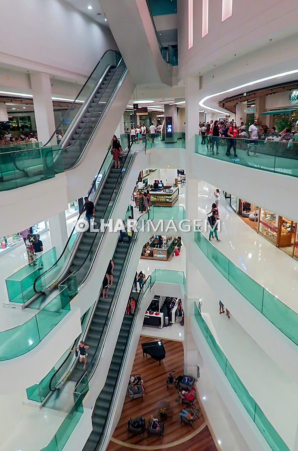Shopping Leblon, Rio de Janeiro. 2019. Foto Juca Martins