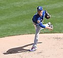 Kenta Maeda (Dodgers),<br /> MARCH 15, 2016 - MLB : Pitcher Kenta Maeda of the Los Angeles Dodgers pitches against the Chicago White Sox during a spring training baseball game in  Glendale, Arizona, USA.<br /> (Photo by AFLO)