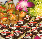 Appetizers, Cityscape Restaurant, Hilton Hotel, San Francisco, California