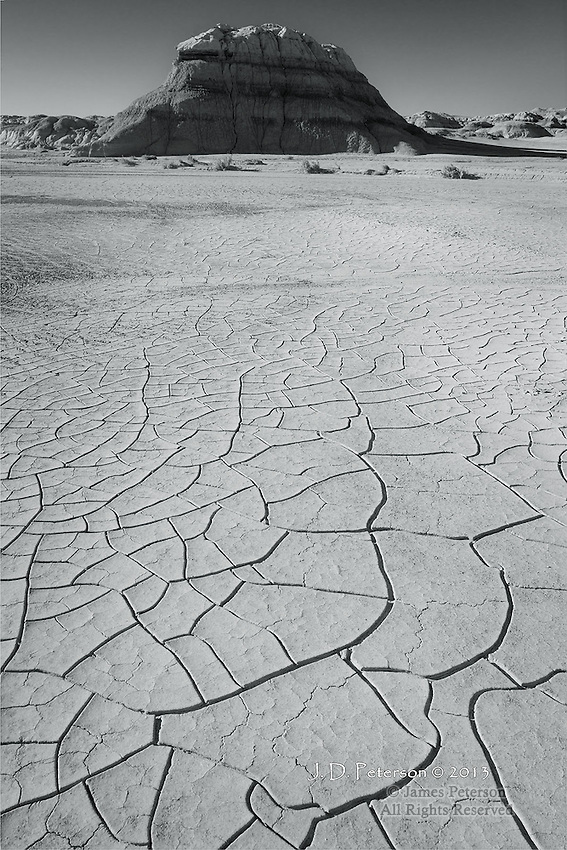 Mud Cracks, Bisti Badlands, New Mexico