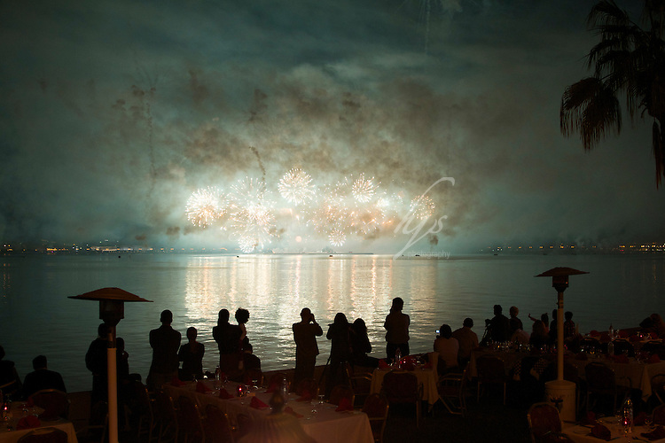 Fireworks display on National Day, Qatar   Dec 10