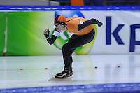 SCHAATSEN: HEERENVEEN: 01-02-2014, IJsstadion Thialf, Olympische testwedstrijd, Jorrit Bergsma, ©foto Martin de Jong