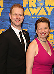"David Hein and Irene Sankoff attends the ""Come From Away"" Broadway Opening Night After Party at Gotham Hall on March 12, 2017 in New York City."