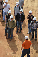 Central Connecticut State University.  New Academic Building.  Project No: BI-RC-324.CCSU Construction Management Class Field Trip | 18 April 2012
