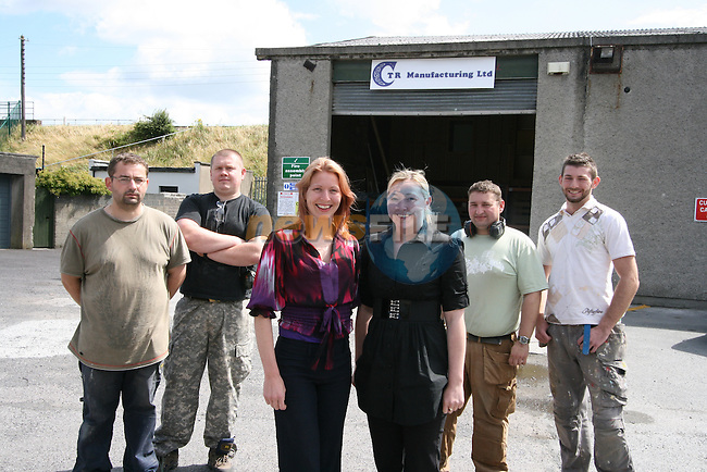 Margaret Reilly and staff at her business Premises, CTR Manufacturing, Bredin Court, Bredin Street...Photo NEWSFILE/Jenny Matthews.(Photo credit should read Jenny Matthews/NEWSFILE)....This Picture has been sent you under the condtions enclosed by:.Newsfile Ltd..The Studio,.Millmount Abbey,.Drogheda,.Co Meath..Ireland..Tel: +353(0)41-9871240.Fax: +353(0)41-9871260.GSM: +353(0)86-2500958.email: pictures@newsfile.ie.www.newsfile.ie.FTP: 193.120.102.198.