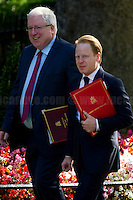 (From L to R) Patrick McLoughlin MP (Chancellor of the Duchy of Lancaster) & Ben Gummer MP (Minister for the Cabinet Office and Paymaster General).<br />
