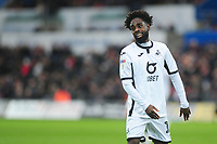 Nathan Dyer of Swansea City during the Sky Bet Championship match between Swansea City and Millwall at the Liberty Stadium in Swansea, Wales, UK. Saturday 23rd November 2019