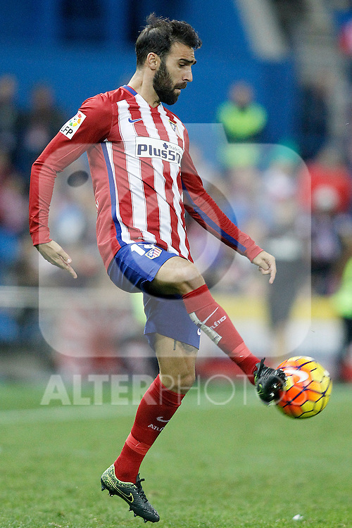 Atletico de Madrid's Jesus Gamez during La Liga match. November 8,2015. (ALTERPHOTOS/Acero)