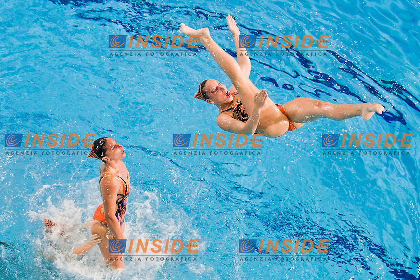 Team Italy bronze medal..European Synchronised Swimming Championships Eindhoven 2012..Teams free routine - Final ..Eindhoven (Netherlands), 26/05/2012, Pieter Van Den Hoogenband Swimming Stadium..ph. Giorgio Perottino / Deepbluemedia