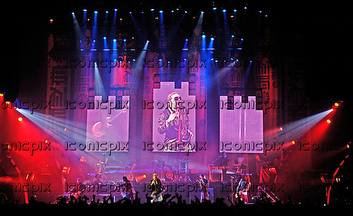 Guns n' Roses - performing live at the Hammerstein Ballroom in New York USA - 15 May 2006.  Photo credit: George Chin/IconicPix