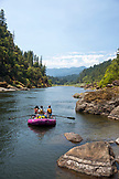 USA, Oregon, Wild and Scenic Rogue River in the Medford District, scenic near Floridel Creek