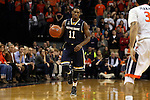 02 January 2016: Notre Dame's Demetrius Jackson. The University of Virginia Cavaliers hosted the University of Notre Dame Fighting Irish at the John Paul Jones Arena in Charlottesville, Virginia in a 2015-16 NCAA Division I Men's Basketball game. Virginia won the game 77-66.