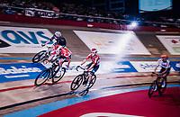 Jasper de Buyst (BEL/Lotto-Soudal) & Tosh Van der Sande (BEL/Lotto-Soudal)<br /> <br /> zesdaagse Gent 2019 - 2019 Ghent 6 (BEL)<br /> day 3<br /> <br /> ©kramon