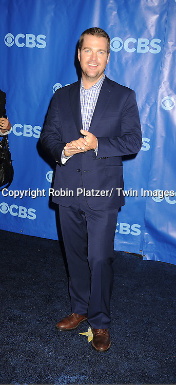 Chris O'Donnell attending The CBS Upfront announcement of the Prime Time 2011-2012 Season on May 18, 2011 at Damrosch Park in  Lincoln Center in New York City.