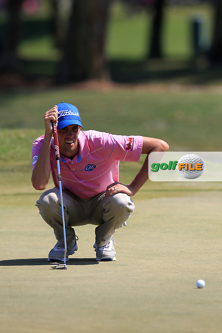Cheeson HADLEY (USA) on the 9th during the final round of The Players, TPC Sawgrass, Ponte Vedra Beach, Florida, United States. 10/05/2015<br /> Picture Fran Caffrey, www.golffile.ie