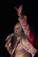SÃO PAULO - SP. 15.02.2017 - SHOW-SP. Maria Bethânia durante Show de Verão da Mangueira, nesta quarta-feira, 15, no Tom Brasil, zona sul de São Paulo. (Foto: Ciça Neder / Brazil Photo Press)