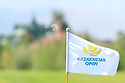 A flag during the third round of the Kazakhstan Open played at Zhailjau Golf Resort, Almaty on September 15, 2012 in Almaty, Kazakhstan.(Picture Credit / Phil Inglis)
