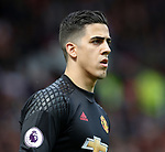 Joel Castro Pereira of Manchester United during the English Premier League match at the Old Trafford Stadium, Manchester. Picture date: May 21st 2017. Pic credit should read: Simon Bellis/Sportimage