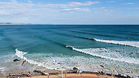 Snapper Rocks,  Coolangatta, Queensland, Australia.(Friday, January 8, 2016): The run of really nice waves continues. The swell is from the ESE in the 2 to 4ft range on the sets with the tide dropping was low at around 1pm. The  points have been looking very good in the 2-3ft range.<br />  Photo: joliphotos.com