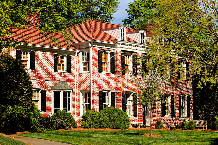 Part of a photography collection showing the variety of architectural styles of homes, apartments and condos in metropolitan Charlotte, NC. Image taken in Eastover Neighborhood - Colville Road.
