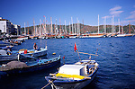 Boats in the harbour, Fethiye, Turkey