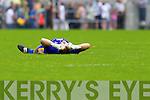 , Kerry in action against Joe Hayes, Clare in the Munster Senior Championship Semi Final in Cusack Park, Ennis on Sunday.