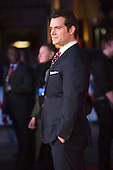 London, UK. 22 March 2016. Actor Henry Cavill (Clark Kent/Superman). Warner Bros. Pictures presents the European Premiere of Batman v Superman, Dawn of Justice. The movie, directed by Zack Snyder, stars Ben Affleck as Batman/Bruce Wayne and Henry Cavill as Superman/Clark Kent in the characters' first big-screen pairing. The movie opens in cinemas on 25 March 2016. © Vibrant Pictures/Alamy Live News