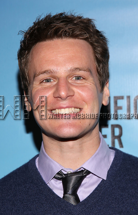 Jonathan Groff attends the Broadway Opening Night performance for 'Significant Other' at the Booth Theatre on March 2, 2017 in New York City.