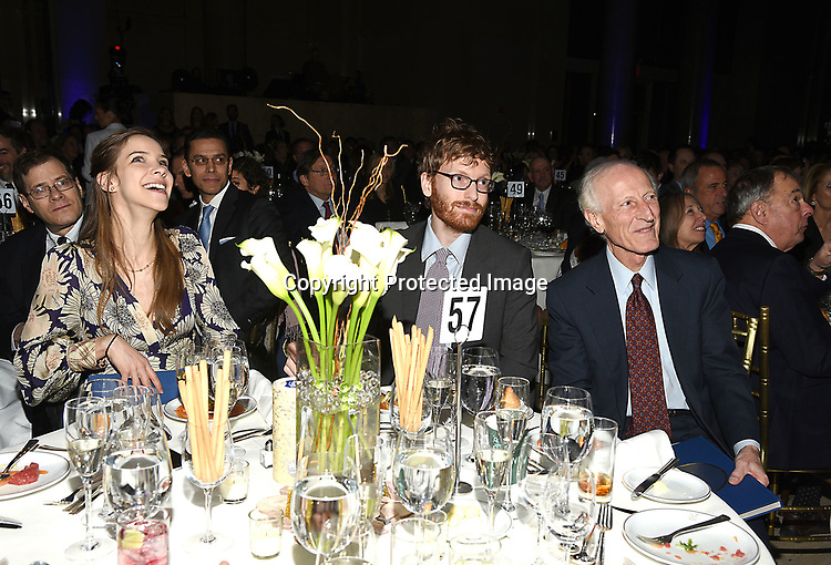 Dr Richard Soghoian and         attend the Columbia Grammar & Prep School 2017 Benefit on March 8, 2017 at Cipriani Wall Street in New York, New York.