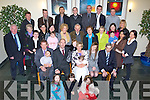 CHRISTENING: A big day for the Brick Family as their son Danny was christened in St John's Church Causeway and afterwards the family Michael, Eileen and Danny's sister Molly invited  family and friends to Ballyroe Heights Hotel to mark the ocassion on Saturday.  .......... . ............................... ..........