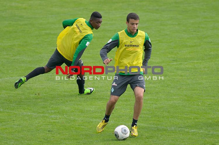 04.09.2013, Trainingsgelaende, Bremen, GER, 1.FBL, Training Werder Bremen, im Bild Franco Di Santo (Bremen #9)<br /> <br /> Foto &copy; nph / Frisch