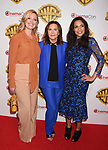 LAS VEGAS, CA - MARCH 29: (L-R) Actress Katherine Heigl, director Denise Di Novi and actress  Rosario Dawson arrive at CinemaCon 2017 Warner Bros. Pictures Invites You to ?The Big Picture?, an Exclusive Presentation of our Upcoming Slate at The Colosseum at Caesars Palace during CinemaCon, the official convention of the National Association of Theatre Owners, on March 29, 2017 in Las Vegas, Nevada.