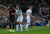 Leeds United's Helder Costa appeals a decision<br /> <br /> Photographer Alex Dodd/CameraSport<br /> <br /> The Carabao Cup Second Round- Leeds United v Stoke City - Tuesday 27th August 2019  - Elland Road - Leeds<br />  <br /> World Copyright © 2019 CameraSport. All rights reserved. 43 Linden Ave. Countesthorpe. Leicester. England. LE8 5PG - Tel: +44 (0) 116 277 4147 - admin@camerasport.com - www.camerasport.com