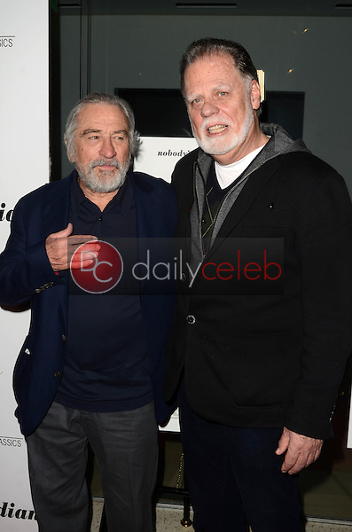 "Robert De Niro, Taylor Hackford<br /> at ""The Comedian"" Los Angeles Premiere, Pacific Design Center, West Hollywood, CA 01-27-17<br /> David Edwards/DailyCeleb.com 818-249-4998"