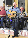 Dickie Brady performing at the Social evening in Drumshallon Forge. Photo:Colin Bell/pressphotos.ie