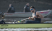 Putney, London,  Tideway Week, Championship Course. River Thames,  Oxford UBC.  Stroke: Vassilis Ragoussis.<br /> Tuesday  28/03/2017<br /> [Mandatory Credit; Credit: Peter Spurrier/Intersport Images.com ]